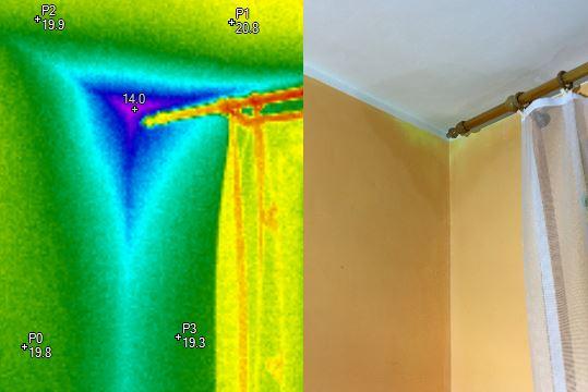 termovizní měření na Šumpersku, termokamera Šumperk